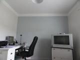 Frise en peinture identique au plafond