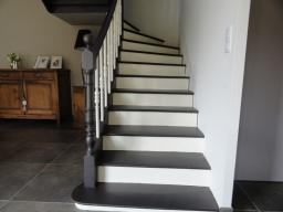 Escalier en 2 teintes