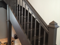 Escalier teinte chocolate colour 124 little greene