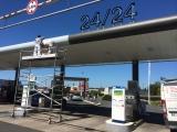 Pompes à essence Hyper U Yffiniac
