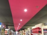 U Express chemin sol Gerflor & coffre plafond