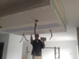 Faux plafond pour encastrement de spots