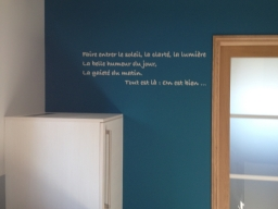 Peinture Little greene teinte Marine Blue