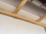 maison passive isolation extérieure avec dessous de toit isolé